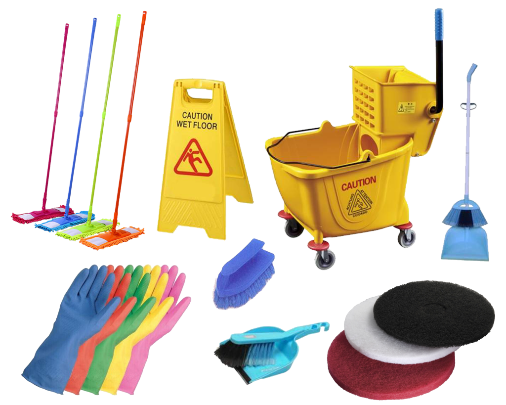 Janitorial Tools Amp Equipment Mop Bucket Cart Polisher